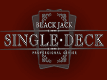 Single Deck Blackjack Professional Series